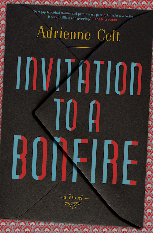 Cover of Invitation to a Bonfire, a novel by Adrienne Celt